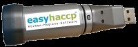 easyhaccp Datenlogger zur Temperaturaufzeichnung mit USB Anschluss